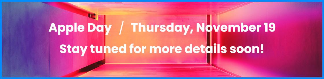 Apple Day / Thursday, November 19