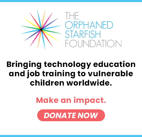 Make an impact. Donate now to The Orphaned Starfish Foundation.