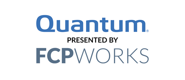 Platinum Sponsor - Quantum presented by FCPWorks